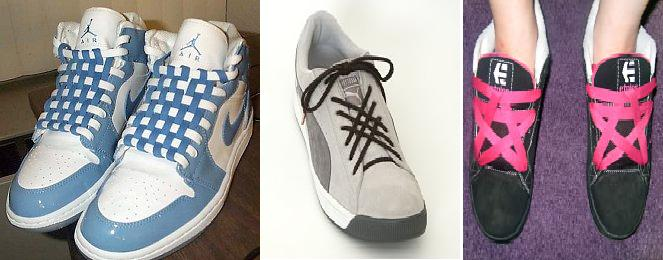 79bcc77d659 Try this shoe lacing techniques that you can apply in any shoes you have.  Chucks, skate shoes up to your running shoes. You can apply this simple  lacing ...